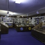 Historical memorabilia, documents, photos fill every inch of the museum