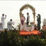 Floating Wedding in Poovar Island Resort