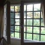 Окно в одноместном номере