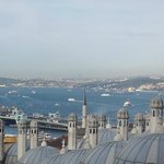 Views from Suleymaniye Mosque