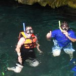 Snorkeling in the Grand Cenote