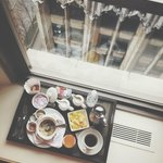 Breakfast in my Window Seat