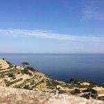 View from Sa Baronia