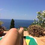 Sunbathing at Sa Baronia