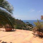 Sunbathing views from Sa Baronia