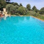 Beautiful fresh pool