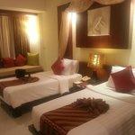 blue suite double beds