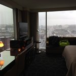 Room #564 All Glass Walls With View of City