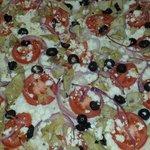 Thin & Crispy Greek Pizza