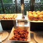 Club Level Food Presentation