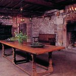 The Mediaeval Hall Tearoom serving home-made food
