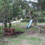 Playground right near cabin #2