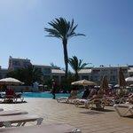 anexe area and pool