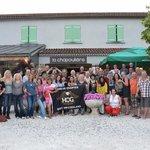 Geneva Chapter West Switzerland visiting La Chapouliere