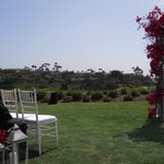 Beautiful view for the wedding ceremony