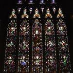Many original stained glass windows
