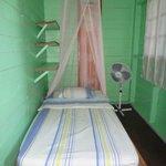 Habitación, cama individual