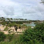 Distant view of resort