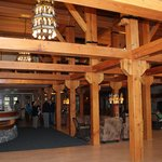 Snow Lodge lobby