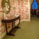 Hallway of suite