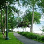 Walking path, along Ohio's Most Beautiful Mile,