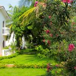 The villa style accommodation