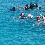 swimming : )