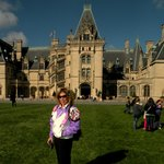 in front of the Biltmore Estate