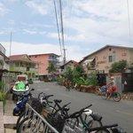 Alrededores del hostel