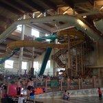Inside pool areas