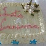 Torta Millefoglie ripiena di crema chantilly creata sul momento.
