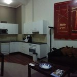 Room 858 with view of Darling Harbour. Excellent location with comfy interior. Feels just like h