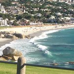 View over camps bay