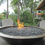 Fire Pits by Tequila Bar