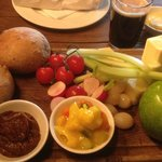 an Excellent Ploughman's lunch