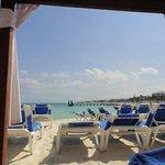 beach chair area