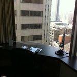 view from 21st floor corner room