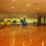 fitness , yoga area