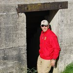 Hubby at the Fort
