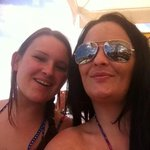 me n mate at playa olid