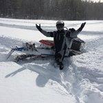 The snow was amazing