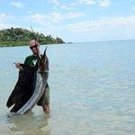 a pesca con jacopo