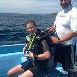 Diving at Scuba Roatan