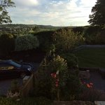 view from our window - lovely