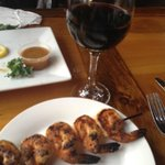 Blackened Shrimp Appetizer