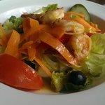 Junkaroo Shrimp at cafe off shore island, yummy!