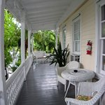 Veranda around The Palms Hotel