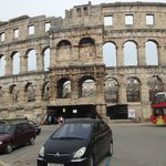 Pula Town area