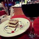 dessert at La Gondola Restaurant