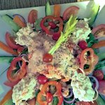 One hell of a Crayfish Salad (for one person may I add!)